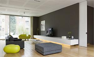 Home - Deco grijze muur ...